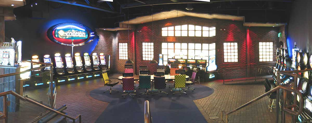 Atronic Casino Schauraum Showroom in Phoenix USA - Raum Interior Design Planung und Realisation von Milo