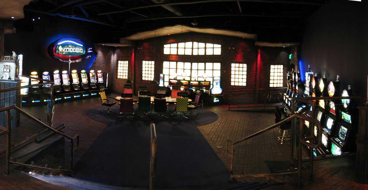 Casino Showroom Schauraum für Atronic - in der Innenarchitektur Design Ausstattung und Planung von Milo