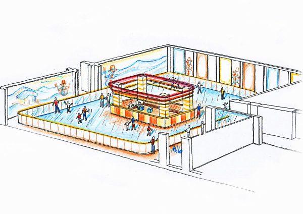 Bitterfeld Kunststoff Ice Free - in Milo´s Raum Dekoration Ausstattung Design und Licht Planung