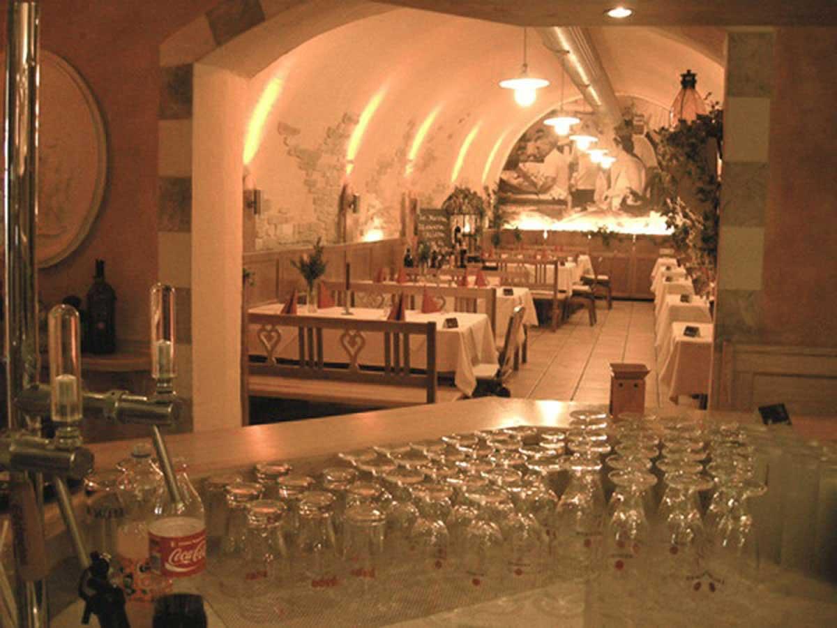 Davinci Pizzeria Rrestaurant Raum Interior Design Ausstattung Milo
