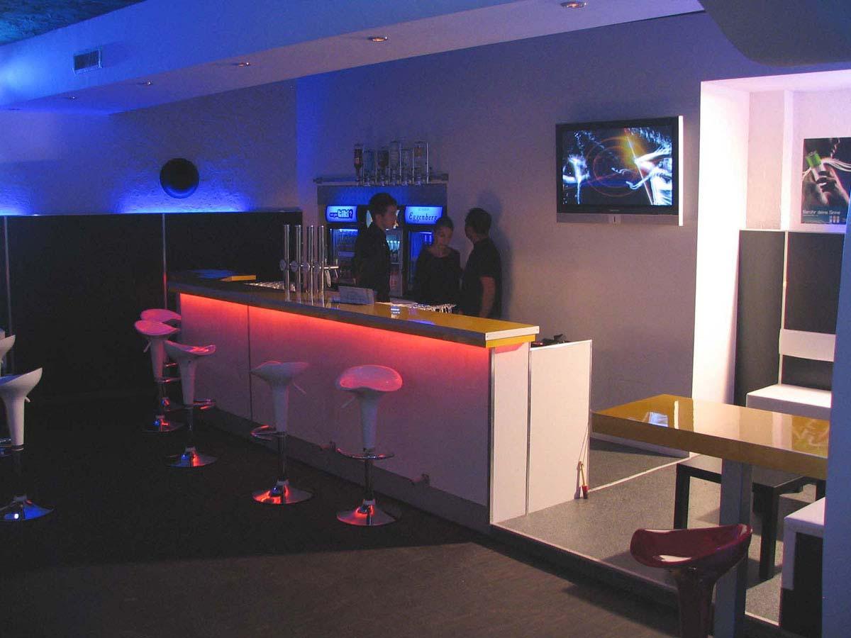 Disco Discothek Design Planung - Blue Motion - Interior und Licht Design Ausstattungs Planung von Milo