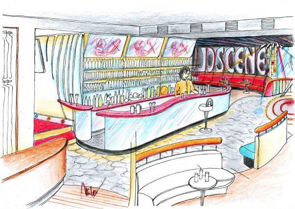Disco Discothek Flachgau - Konzept Design Planung für eine Hotel Disco