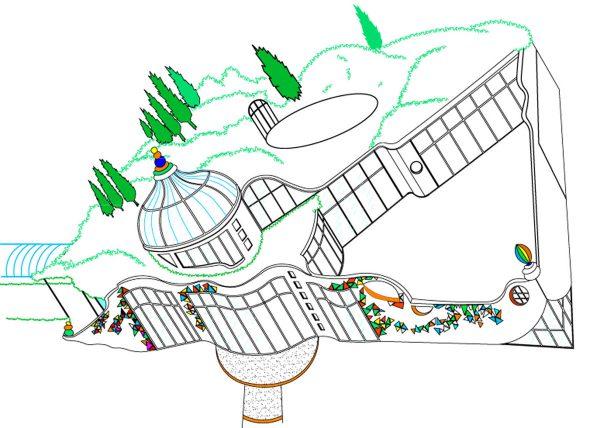 Glashaus Ideen Konzept - Ideen Entwicklung und Design Planung von Milo
