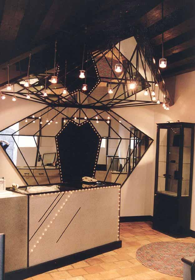 Juwelier Showroom Schauraum Ausstattung Design Milo