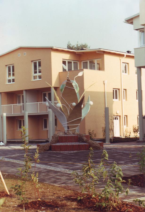 Skulptur Kunst Objekt für Kunst am Bau - Planung und Herstellung Milo