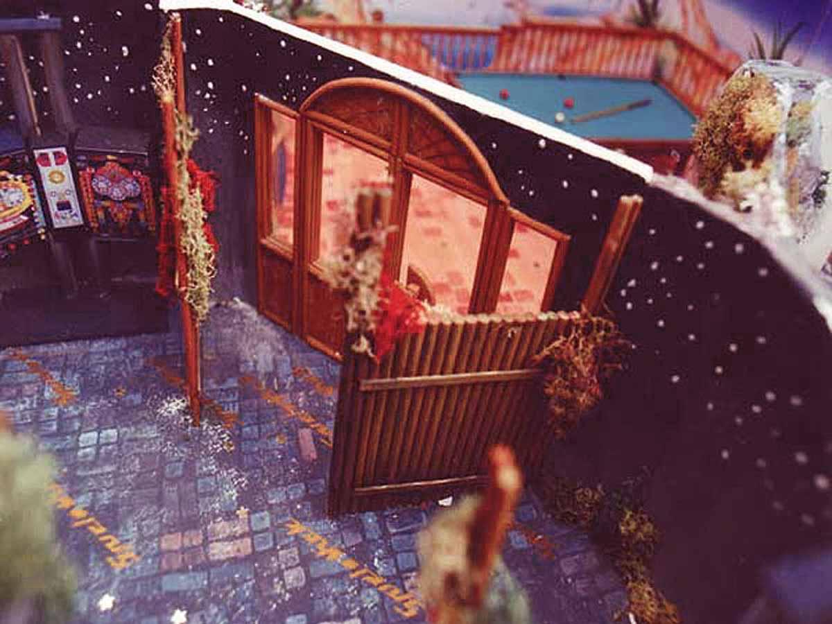 Merkur Spielothek - Milo´s Modell Interior Design Planung für den Übergang Spielhalle - Slot Machine Casino