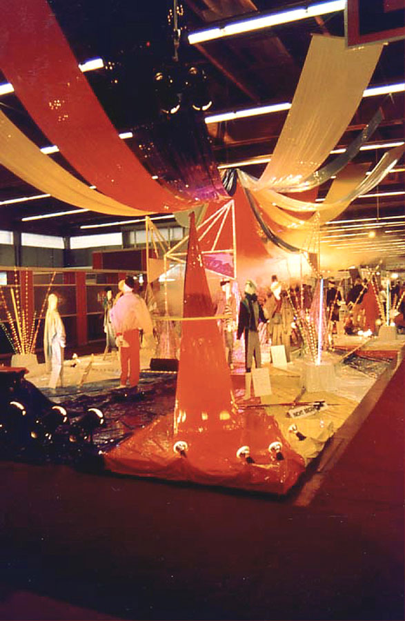 Modemesse Salzburg - Show Praesentation - Ideen Planung Ausstattung Milo