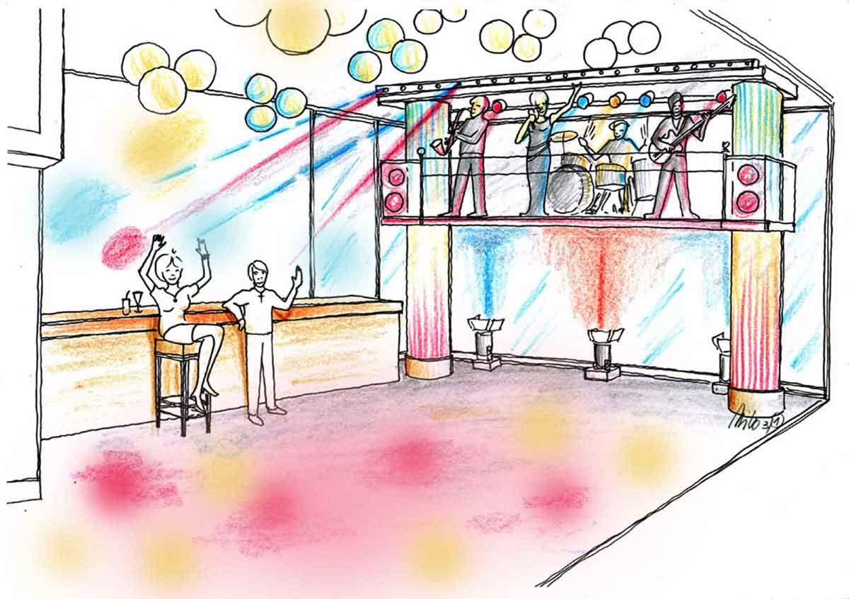 Suschi Restaurant Düsseldorf - Ausstattung Interior Design Konzept ...