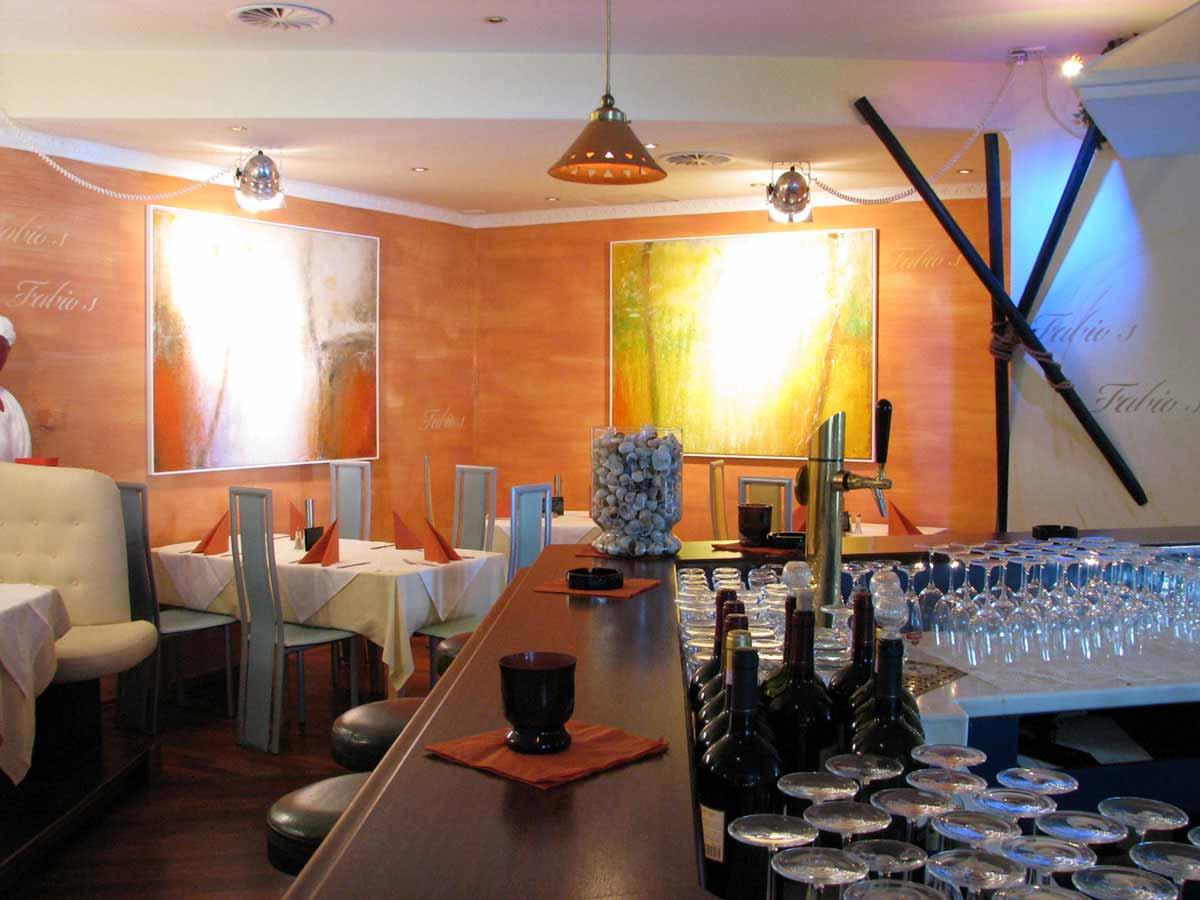 Pizzeria Restaurant Design - Fabios - mediterrane Farben in Milo´s Interior Design Ausstattungs Planung