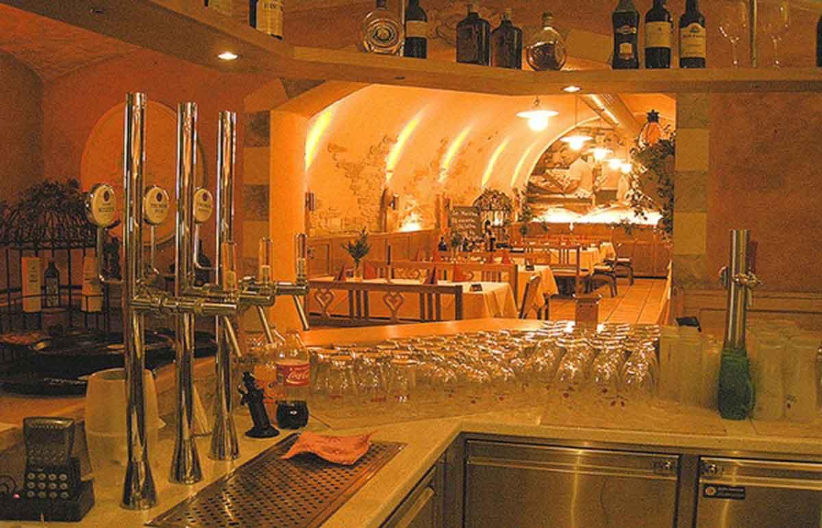 DaVinci Pizzeria Restaurant - Innenarchitektur Ausstattung und Interior Design