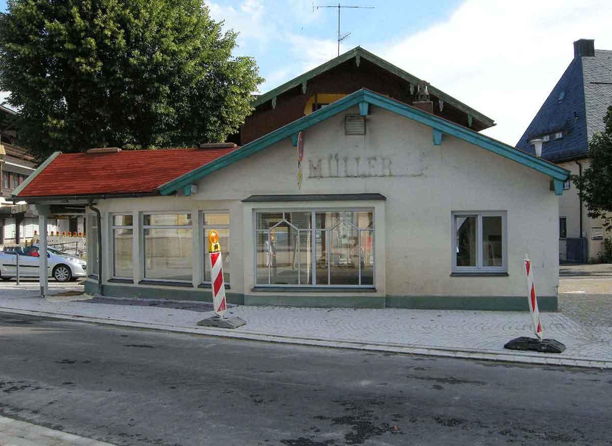 Ruhpolding - Bestand Ansicht des Lokals vor Umbau