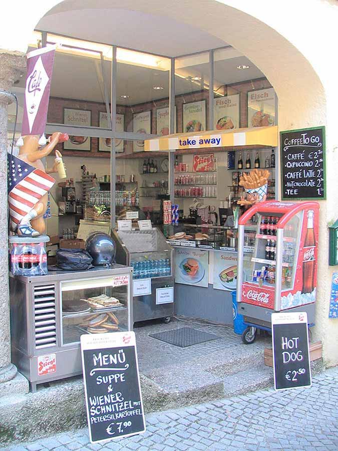 Salzburg Gastronomie Imbiss - Neu Ausstattung - Design Planung