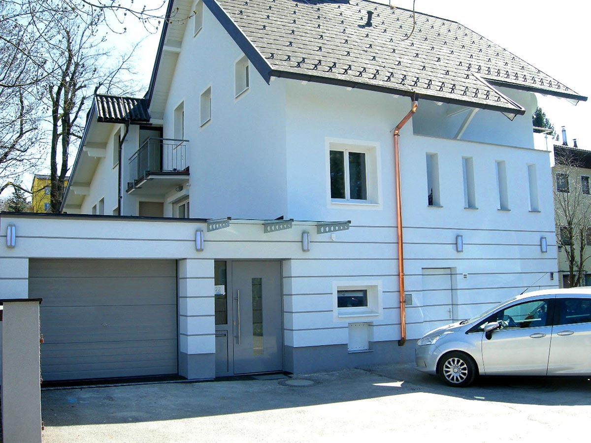 Salzburg Haus mit neuer Fassade - optische Lösung ohne großen Aufwand - in Milo´s Design Planung