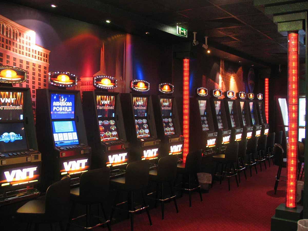 Ansicht Schwechat Wettpunkt Slot Machine Casino - Raum Interior Design Planung Milo