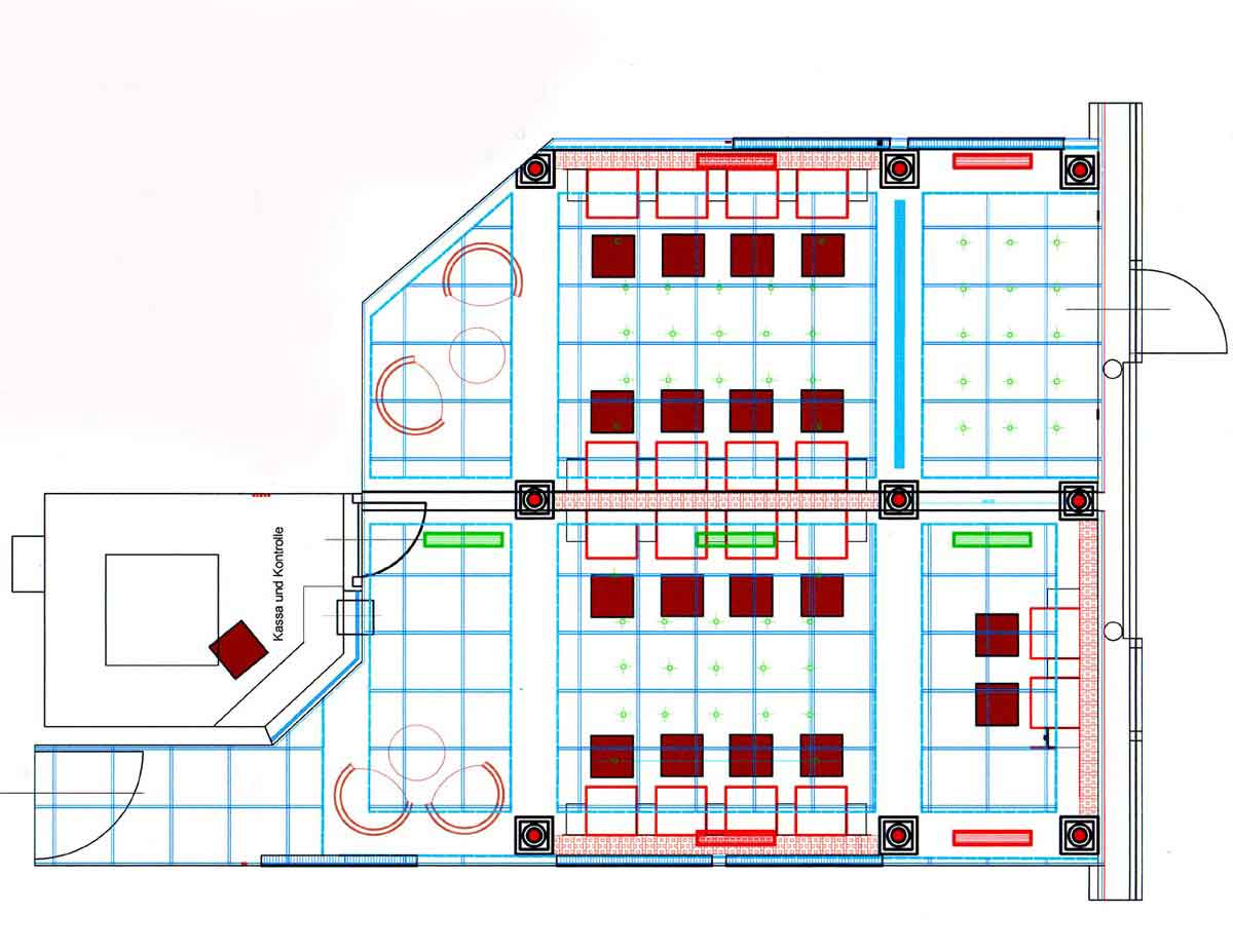 Wettpunkt Slot Machine Casino - Grundrisswett Casino Murau - Innenarchitektur und Interior Design Planung von Milo