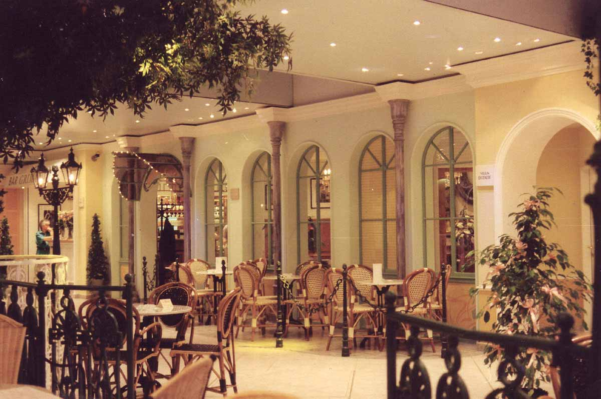 """""""Monte Carlo"""" Wien - Wettpunkt Themen Casino und Gastronomie - Innenarchitektur Design Planung und Umsetzung Milo"""