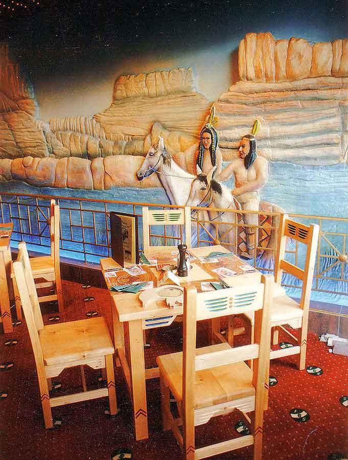wien_scs_western_restaurant_gastronomie_3d_wandgestaltungen
