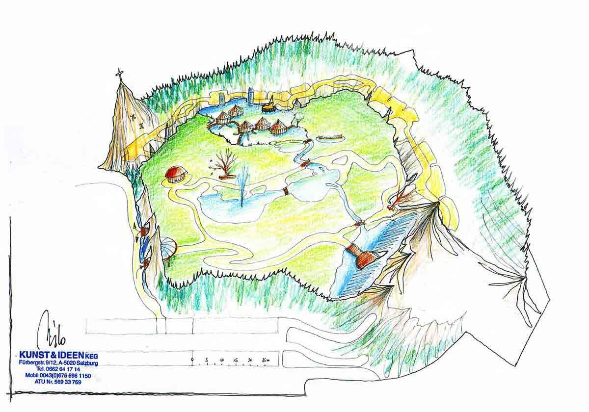 Wolfgangsee Adventure Kinder Park - mit vielen Erlebnissen und Themen rund um den See