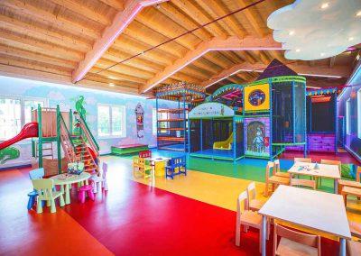 Ansicht des Kinder Indoor Fun Parks im Hotel Lacknerhof